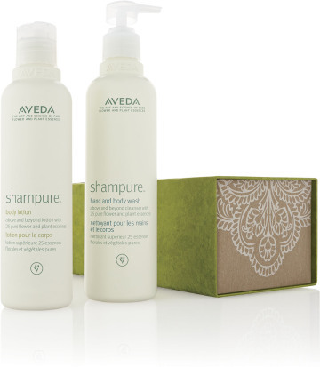 Features Shampure™ Hand and Body Wash and Body Lotion, $44 GIVE TO: the stressed teacher or the traveling father