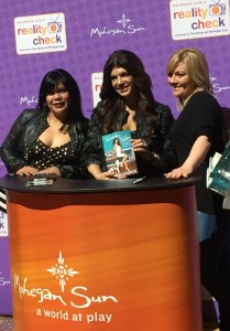 Teresa Giudice, Real Housewives of New Jersey star, and her book Turning the Tables.